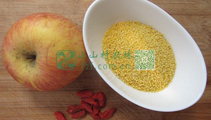 苹果枸杞小米图片