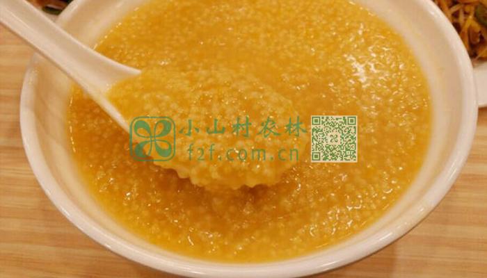 南瓜小米粥图片