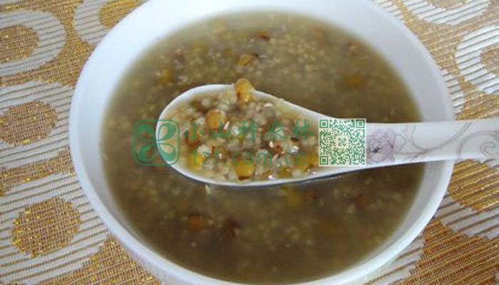 小米绿豆粥图片