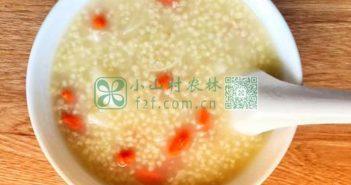 枸杞小米粥图片