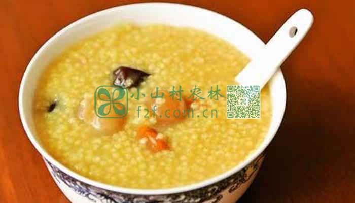 红枣小米粥图片