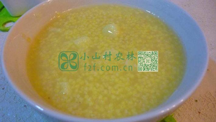 山药小米粥图片
