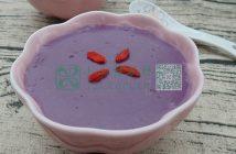 紫薯小米糊图片