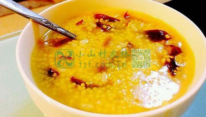 小米粥图片