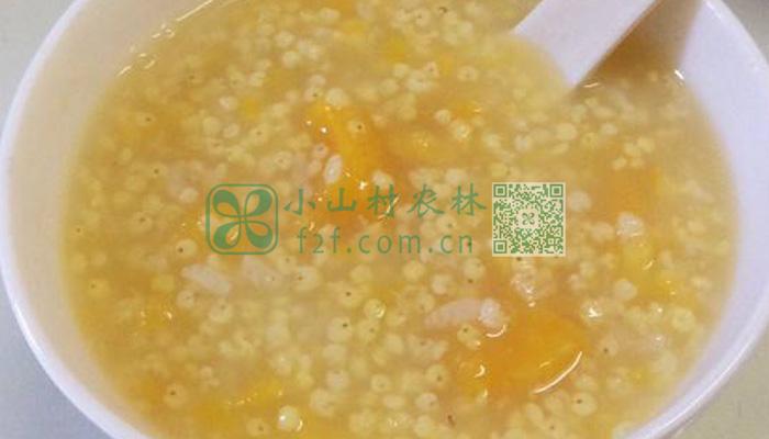 小米红薯粥图片