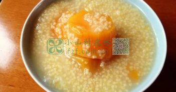 地瓜小米粥图片