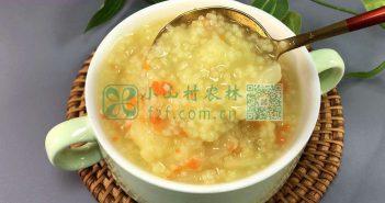 苹果小米粥图片