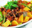 土豆炒肉图片
