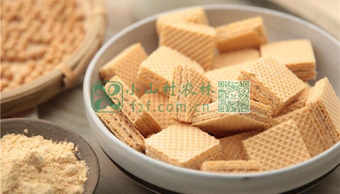黄豆粉饼干图片