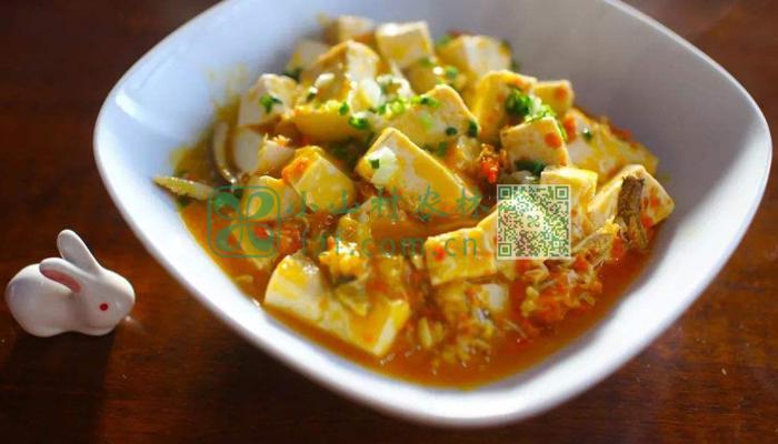 蟹黄豆腐图片