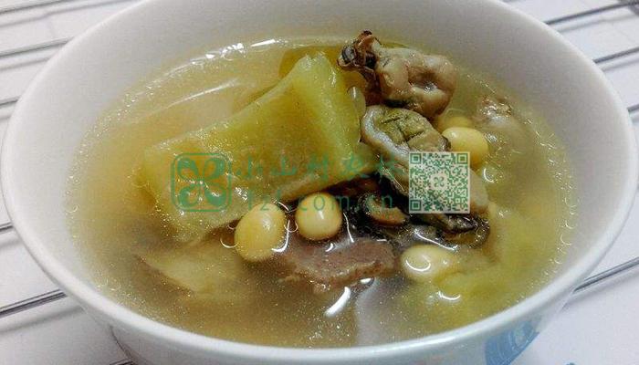 黄豆苦瓜排骨汤图片